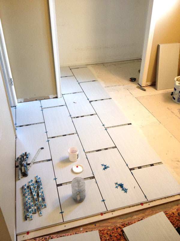Laying Bathroom Tile in South Jersey