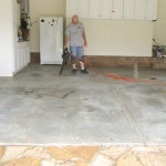 Cleaning Garage Floor for Refinishing in South Jersey